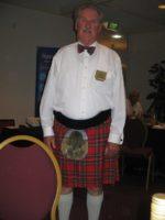 Ronz Edwin - Scott in kilt outfit.